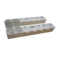 China SunnyWorld Popular 7 Room Pill Box