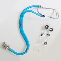 SunnyWorld Rapport Stethoscope with Transparent Tubing SW-ST03B